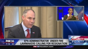 What's Your Point? - EPA administrator under Fire