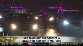 HPD searching for evidence in deadly hit-and-run in Midtown