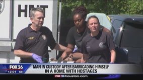 Hostage situation ends with arrest in Sunnyside
