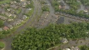 Aerial view Sienna plantation, Missouri City, August 30, 2017