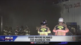 Soy foods facility catches fire