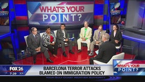 What's Your Point? August 20, 2017  Terrorism Barcelona