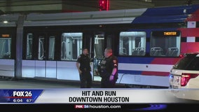 Light rail train damaged after struck by truck