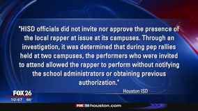 Police angry known gang members performed at schools