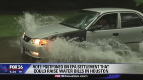 Vote postponed on EPA settlement that could raise water bills in Houston