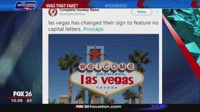 Was That Fake? - #NoCaps in Las Vegas