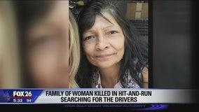 Family of woman killed in hit-and-run searching for the drivers