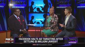 Facebook halts ad targeting after settling $5 million lawsuit