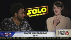 Go Backstage - 'Solo: A Star Wars Story' (Donald Glover & Phoebe Waller-Bridge)