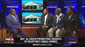 Congressman Al Green encourages banks to invest in communities like Bellaire