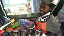 13-year-old hit and run victim speaks first words 'Go 'Stros!' after receiving gift from Astros Foundation
