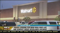 Deputies looking for man who fired off gunshot in Walmart