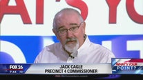 Harris County Commissioner Jack Cagle talks about property tax increase - What's Your Point?