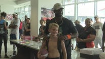 Former University of Houston star D.J. Hayden holds free camp for local kids