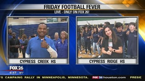 Friday Football Fever - Cypress Ridge and Cypress Creek High School
