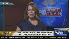 Don't worry about weight, worry about belly fat