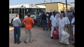 Evacuated Houston jail inmates returning to local prisons