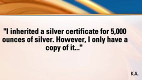 Your Legal Questions Answered - a copied silver certificate and a neighbor's tree