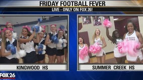 Friday Football Fever- Kingwood Mustangs and Summer Creek Bulldogs show their spriit