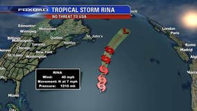 Tropical Depression 19 intensifies into Tropical Storm Rina
