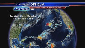 Ophelia the 10th hurricane of Atlantic season