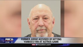 Former judge arrested for allegedly hitting Yankees fan at Minute Maid Park