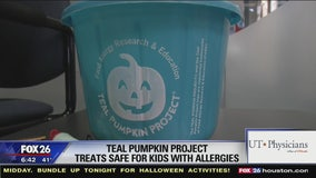 Teal Pumpkin Project promotes treats safe for kids with allergies