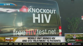 Mobile unit brings HIV and STD treatment to patients