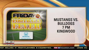 Friday Football Fever Summer Creek Bulldogs and Kingwood Mustangs