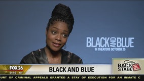 Go Backstage- Naomie Harris talks role in 'Black and Blue'