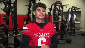 South Houston HS senior Adren Escareno finds success on the field and in the classroom