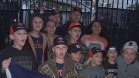 Astros fans hit the road to see their home team play