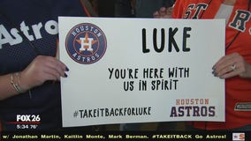 Family of Astros fan who died in a car accident requests special remembrance
