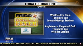 Friday Football Fever  - Angleton  HS and Westfield High School show their spirit