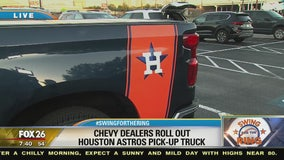 Chevy dealers roll out Houston Astros pick-up truck