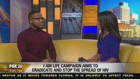 'I Am Life' ambassador Adonis May discusses the campaign