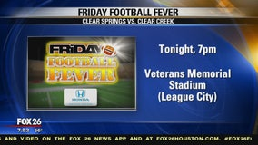 Friday Football Fever at Clear Creek and Clear Springs high schools