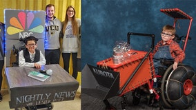 Organization helps build 'dream-come-true' costumes for children in wheelchairs