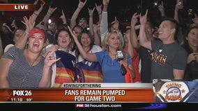 Fans remain pumped for Game 2 after loss