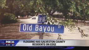 Neighbors in Dickinson worry about more flooding