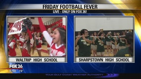 Waltrip Rams and Sharpstown Apollos show their Friday Football Fever