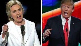 Hillary Clinton calls Trump 'illegitimate president' and 'corrupt human tornado'