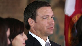 Governor Ron DeSantis raising money to back Trump amid impeachment inquiry