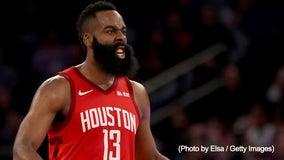 Harden scores career-best 61 points, Rockets edge Knicks 114-110