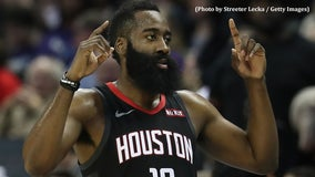 Harden ties career best score with 61 points to lead Rockets over Spurs