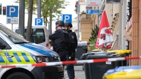 Shooting near German synagogue leaves 2 people dead; 1 suspect arrested, police say