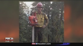 Forest Service firefighter laid to rest after helicopter crash in Conroe
