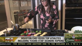Power couple cooks for Houston's top athletes
