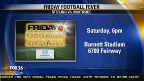 Friday Football Fever Sterling and Northside show their spirit