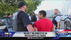 President Trump says the Mississippi raids sent a strong message- What's Your Point?